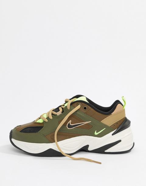 Nike Khaki M2k Tekno Trainers from ASOS