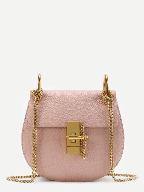 Saddle Bag With Chain