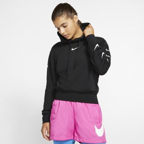 black nike sportswear hoodie