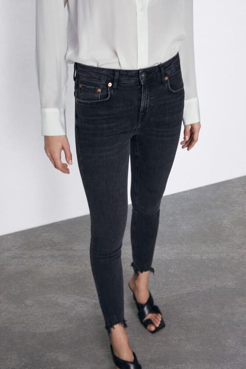 Jeans Zw Premium Skinny Pearl Black