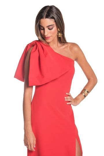Vestido Sandra Rojo de La Mas Mona en 21 Buttons