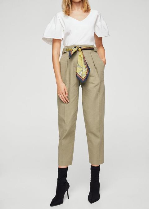 Pantalón Cinturón Pañuelo