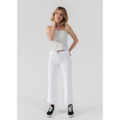 Jeans Culotte High Rise de Noon en 21 Buttons