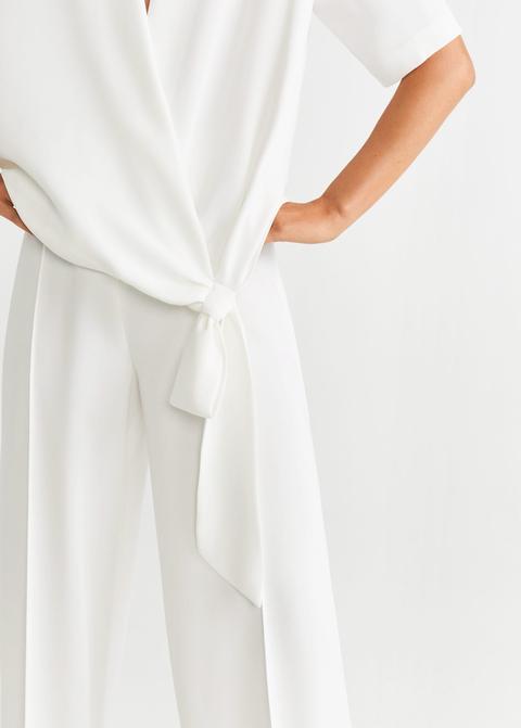 Blusa Lazo Decorativo