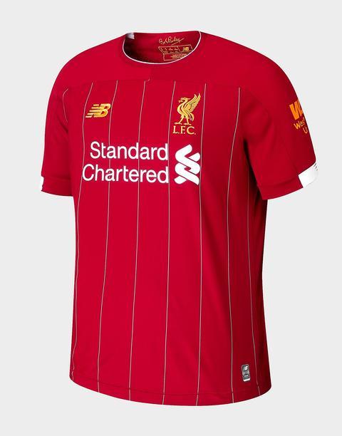 New Balance Camiseta Liverpool Fc 2019 1.ª Equipación Júnior, Rojo de Jd Sports en 21 Buttons