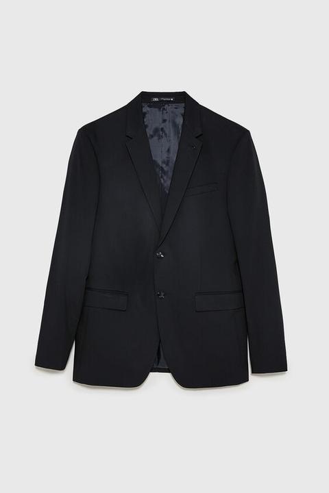 Blazer Conjunto Cinzato Comfort de Zara en 21 Buttons