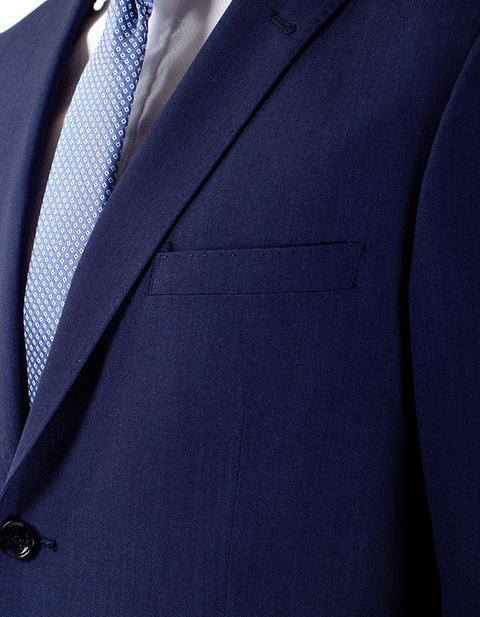 Traje Liso Azul Marino