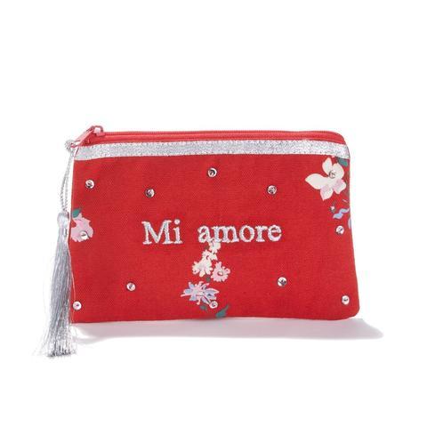 info pour b090a 56da7 Pochette À Message Mi Amore Aude from La Redoute on 21 Buttons
