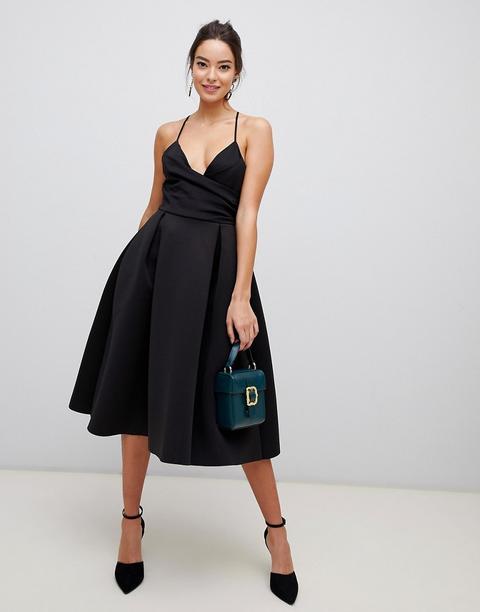 Bal Mi En Asos Design On From Noir Robe Style Néoprène Buttons Longue Promo 21 De Caraco UMpSzV