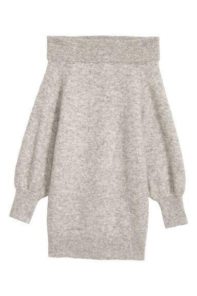 H & M - Pullover A Spalle Scoperte - Grigio