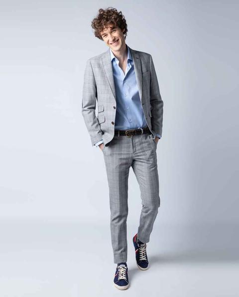 Americana Príncipe De Gales Azul from EL GANSO on 21 Buttons
