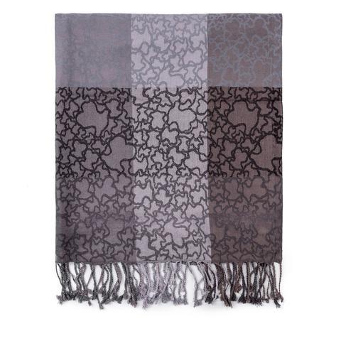 Foulard Kaos En Color Negro-gris de Tous en 21 Buttons