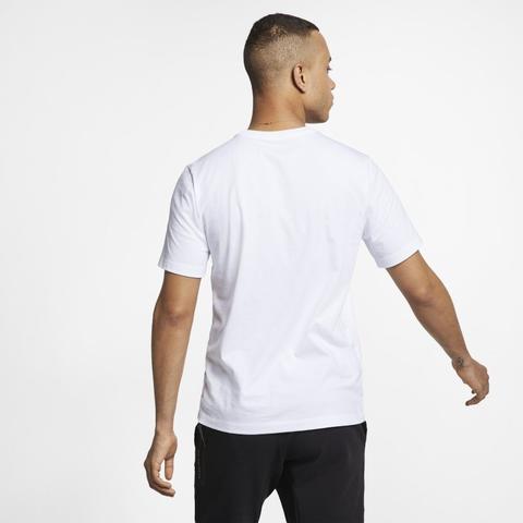 t-shirt nike homme blanc