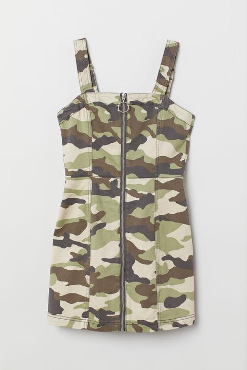 new high cheap order online H & M - Robe Salopette - Vert from H&M on 21 Buttons
