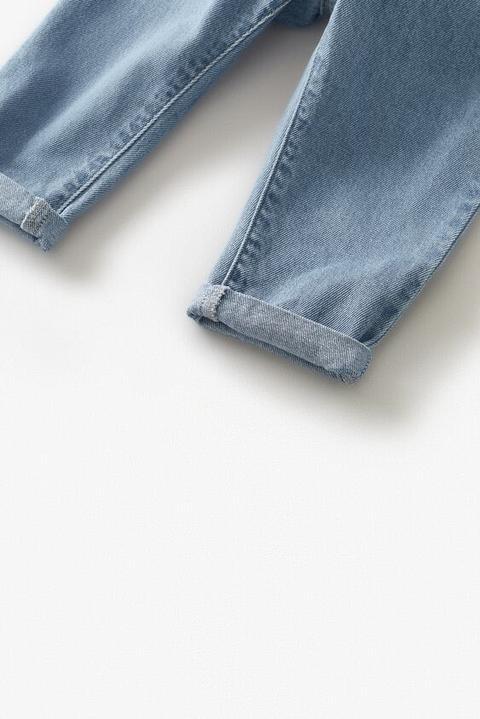 Jeans Aplique Tirantes