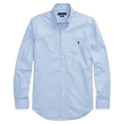 Camisa De Popelina De Cuadros Classic Fit de Ralph Lauren en 21 Buttons