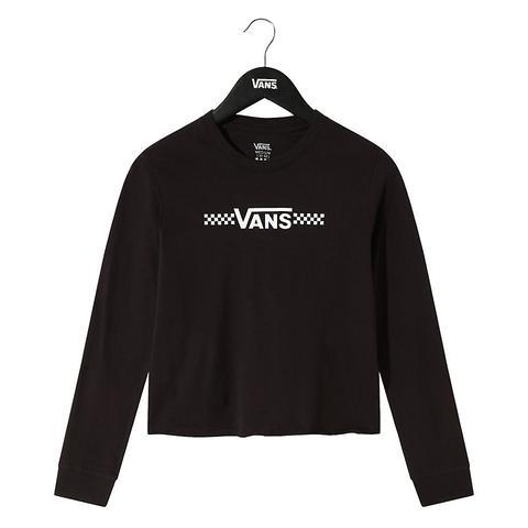 Vans T-shirt Court À Manches Longues Pour Fille Funnier Times (8 ...