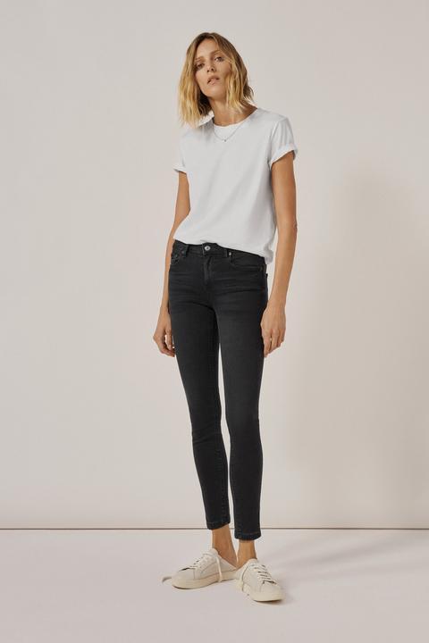 Jeans Zw Premium Skinny Moon Black