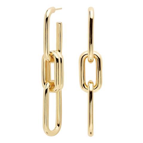 Muze Gold Earrings de PDPAOLA en 21 Buttons