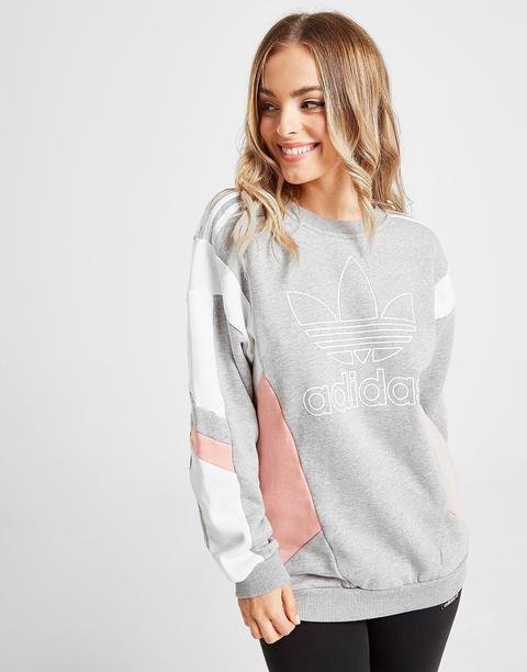 más popular los recién llegados recoger Adidas Originals Sudadera Colour Block - Only At Jd, Gris de Jd Sports en  21 Buttons