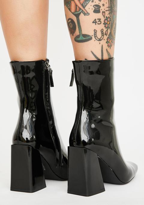 Brigitte Patent Boots