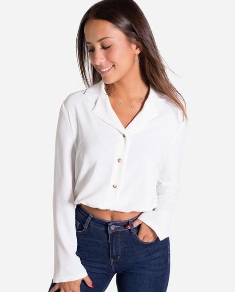 Camisa Woman · Blanco