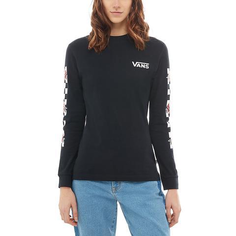 tee shirt vans noir femme