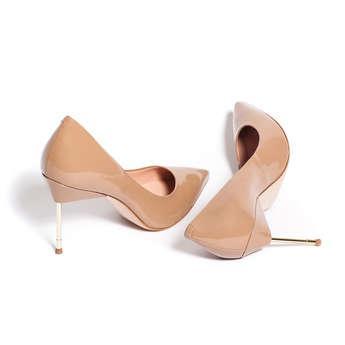 b6248d12f30 Kurt Geiger London Britton - Nude High Heel Court Shoes from Kurt Geiger on  21 Buttons
