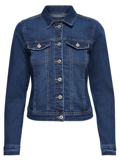 heiß-verkaufendes echtes Wählen Sie für echte günstiger Preis Only Kurze Jeansjacke Damen Blau from ONLY on 21 Buttons