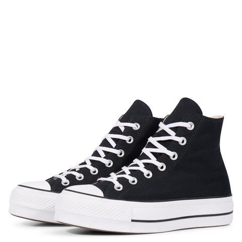 Venta caliente 2019 diseño unico diseño de calidad Converse Chuck Taylor All Star Lift High Top Black, White from ...