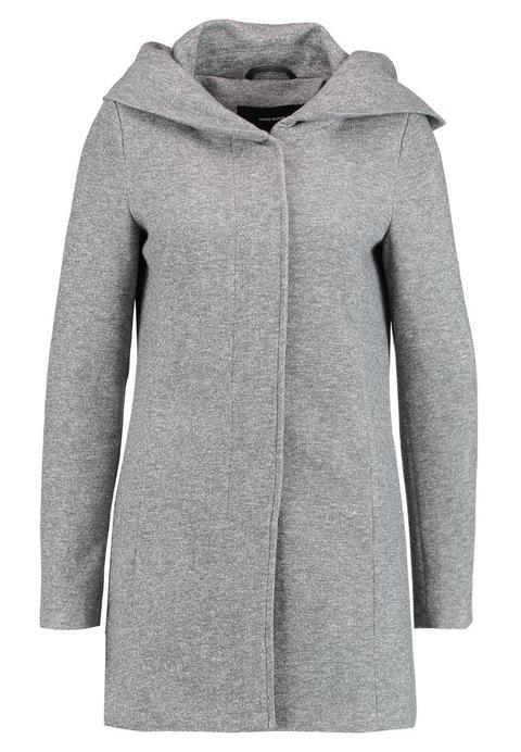 Vero Moda Vmverodona Abrigo De Paño/clásico Light Grey Melange de Zalando en 21 Buttons