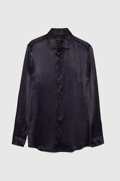 Satinada Buttons On Camisa From Zara 21 O8nPkXZNw0