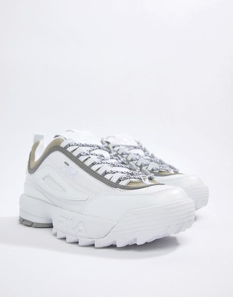 Fila X Liam Hodges - Ml3 Disruptor - Sneakers Bianche - Bianco