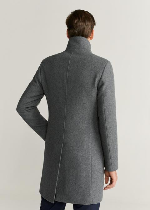 Abrigo Tailored Largo Lana