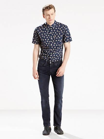511™ Slim Fit Jeans Advanced Stretch Negro / Headed South de Levi's en 21 Buttons