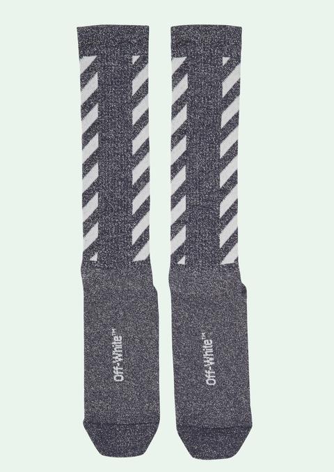 Blue Diag Socks de Off White en 21 Buttons