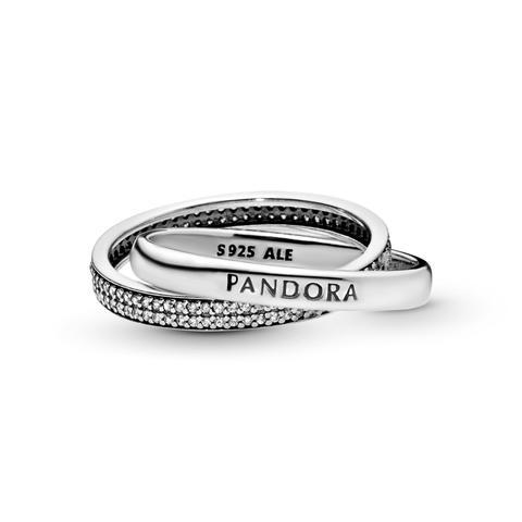 Anillo En Plata De Ley Promesa Pandora