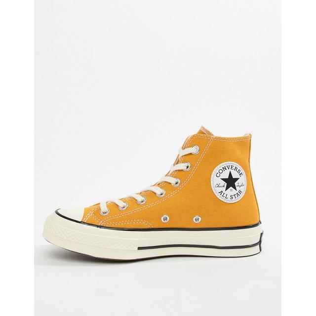 Converse - Chuck 70 - Sneakers Alte Con Girasoli - Giallo from ...