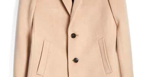Camel 3/4 Coat