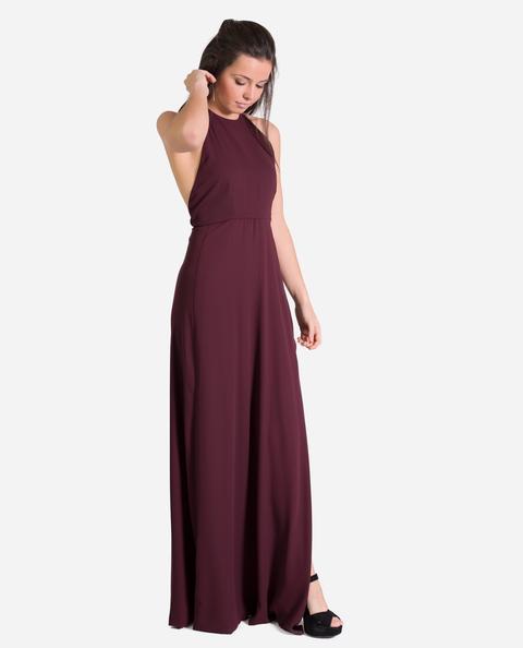 Vestido Marie · Burdeos