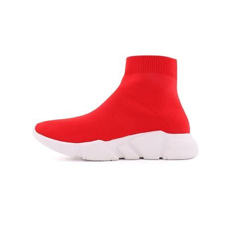 Men - Emige Concealed Heel Sock Boots Sneakers
