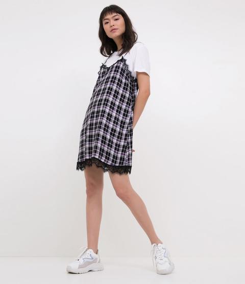 Vestido Slip Dress Xadrez from Renner on 21 Buttons