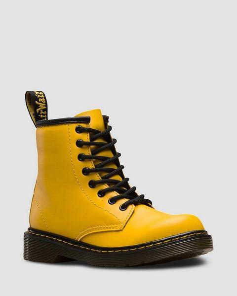 1460 J Yellow de Dr Martens en 21 Buttons