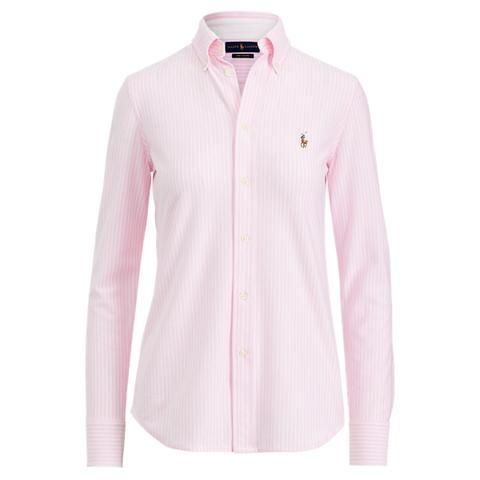 Camisa Oxford De Punto Con Rayas de Ralph Lauren en 21 Buttons
