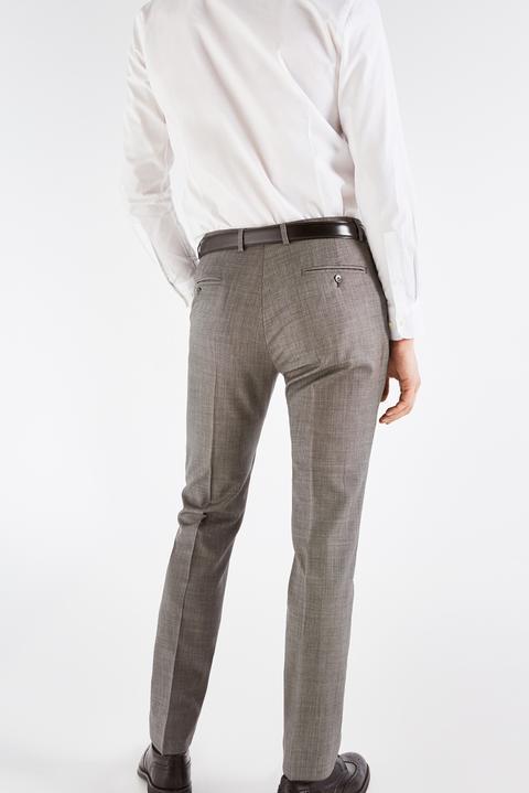 Cortefiel Chino Liso Slim Pantalones para Hombre