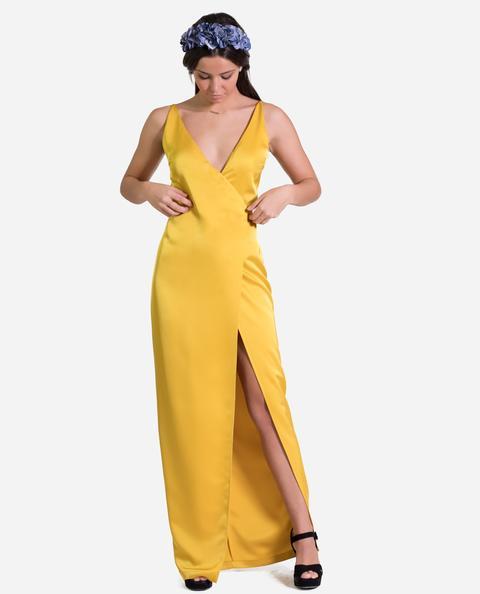 Vestido Camille · Amarillo de THE-ARE en 21 Buttons