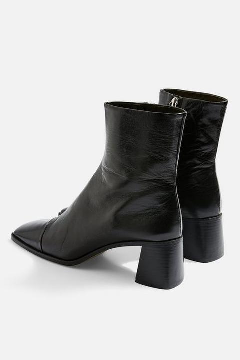 Muriel Mid Heel Boots