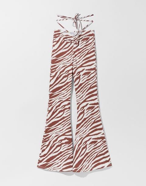 Pantalón Flare Cebra