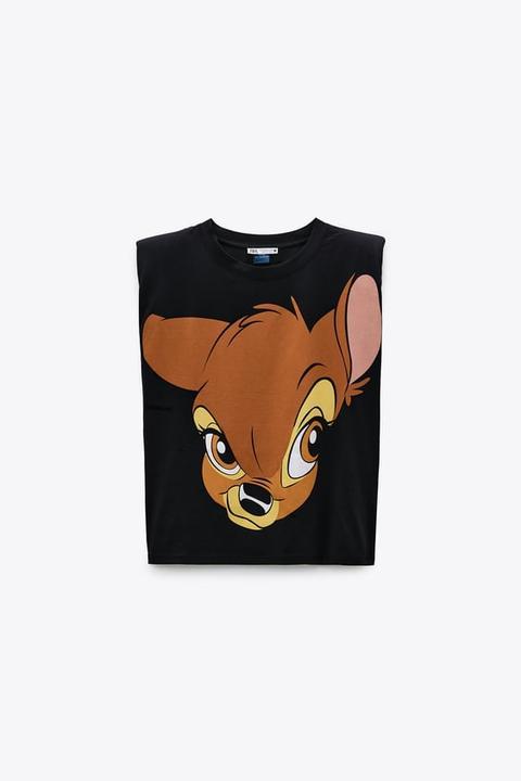 Camiseta Bambi ©disney Hombreras