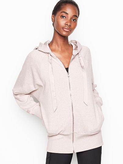 New! Full-zip Hoodie de Victoria Secret en 21 Buttons